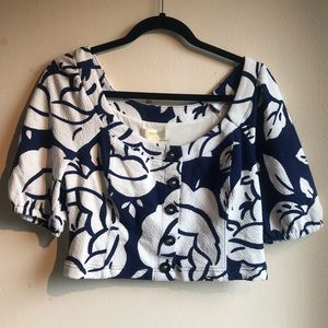 Maeve Anthropologie Crop Top, Size MP